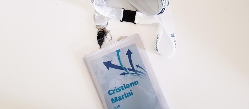 badge eventi personalizzato